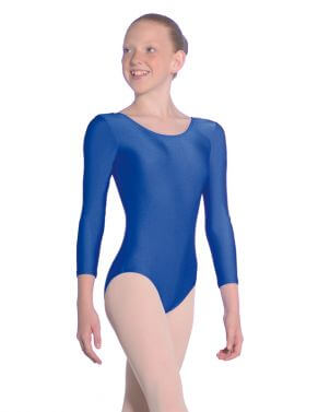 Roch Valley Julie Nylon Lycra Long Sleeved Leotard